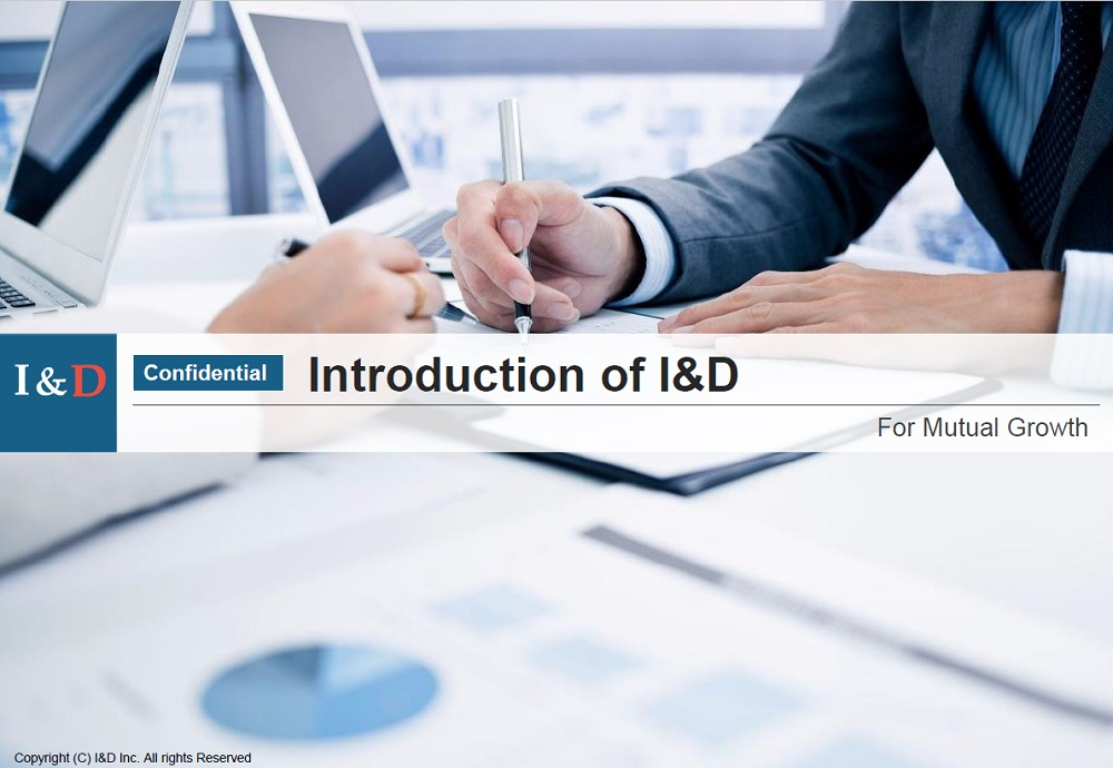 Proposal of Sales activity in Japan